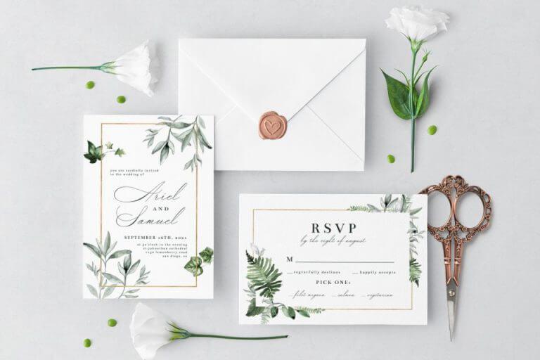 Wedding invitation inspiration