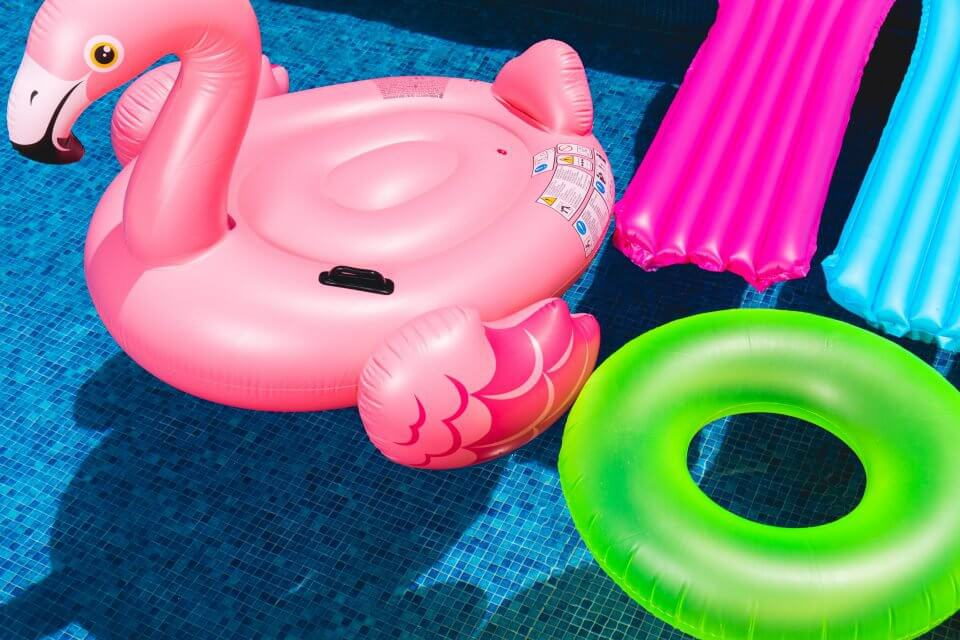 Pool Flamingo Float