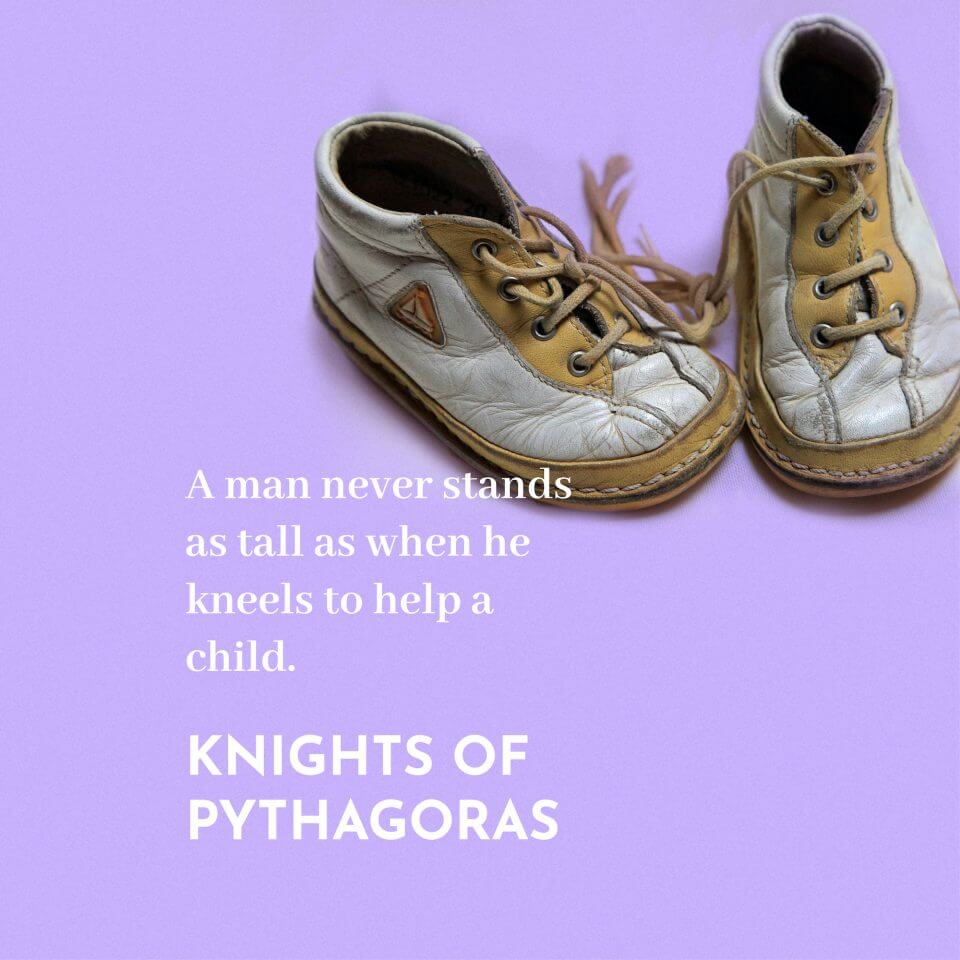 Knights of Pythagoras quote They Said What About Dad? 80 Quotes for Father's Day