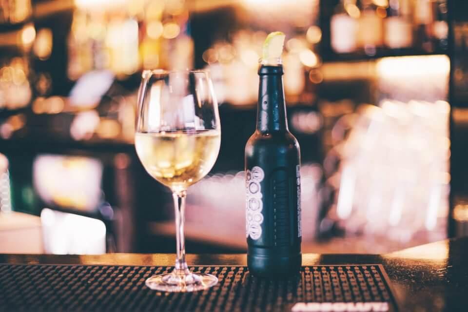 Beer & wine glass