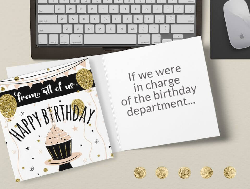 Birthday Wishes & Card Messages For Everyone cupcake glitter