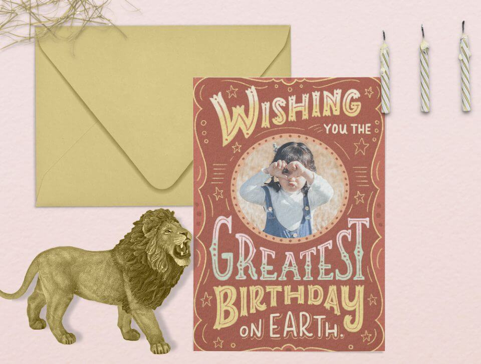Birthday Wishes & Card Messages For Everyone circus lion