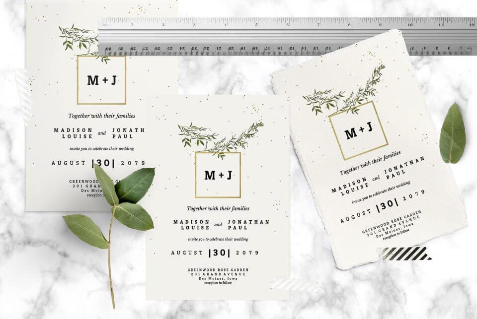 Wedding invitation size examination How to Design the Perfect Wedding Invitations