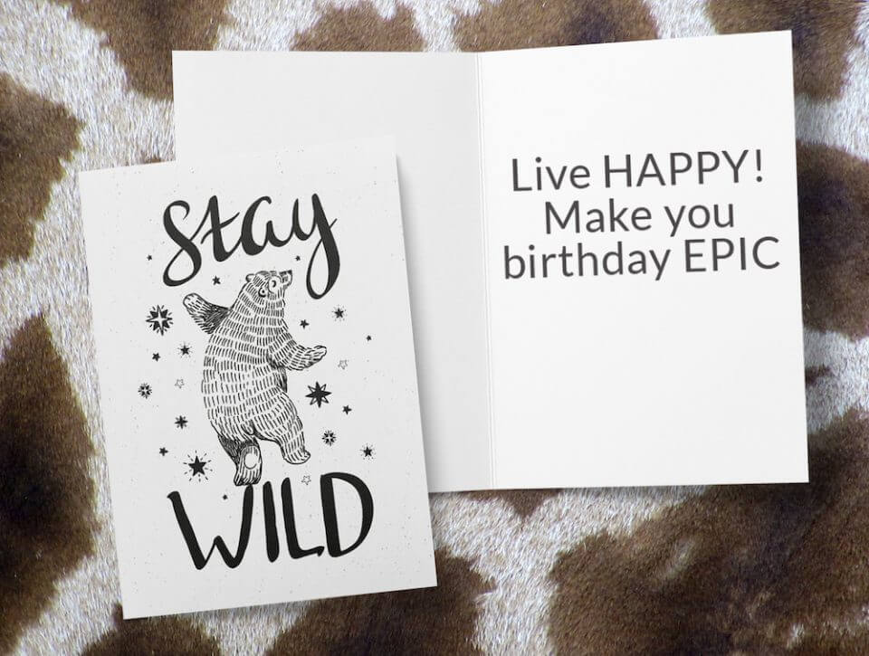 Birthday Wishes & Card Messages For Everyone dancing bear