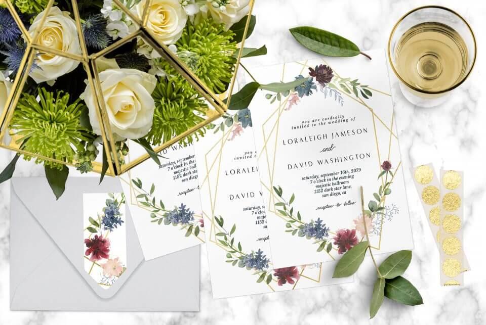 How to Design the Perfect Wedding Invitations Wedding invitations scene