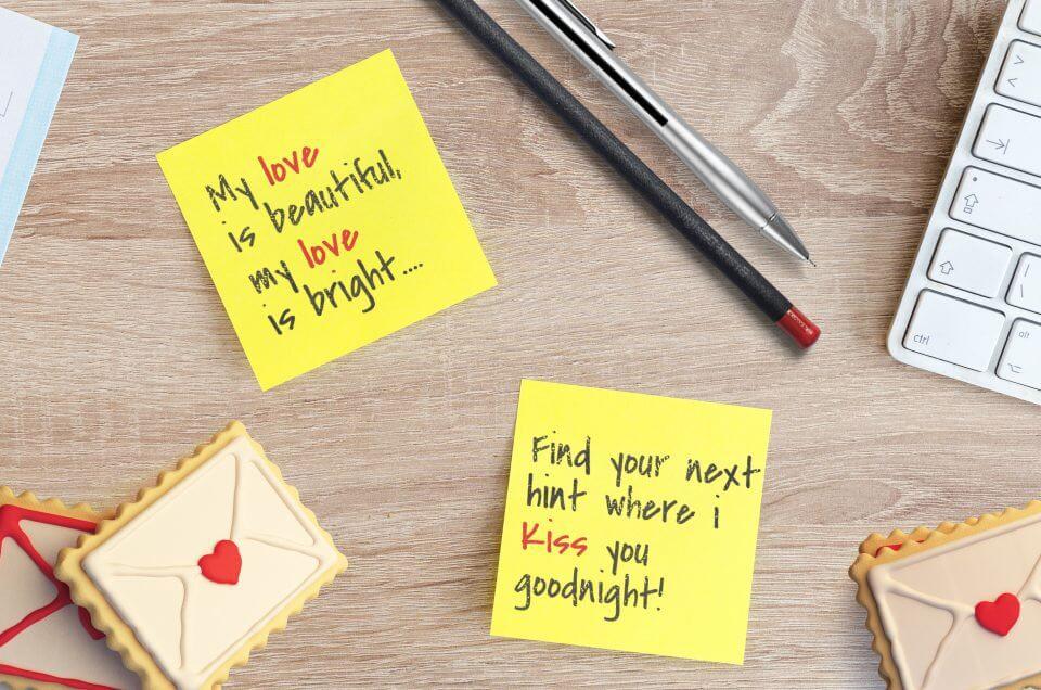 Love sticky notes
