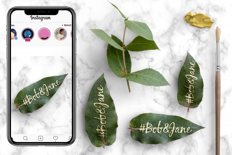 wedding hashtag How to Design the Perfect Wedding Invitations