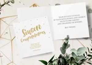 Retirement sincere congratulations card