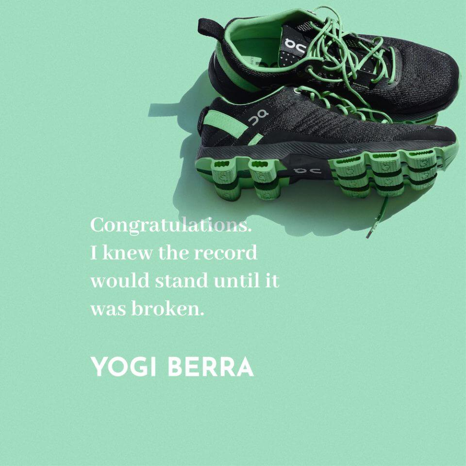 50 Congratulations Wishes & Quotes yoga berra quote