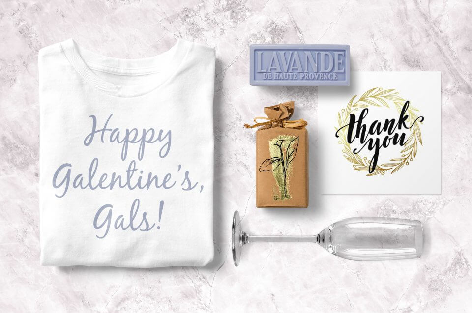 Galentine's day party favors