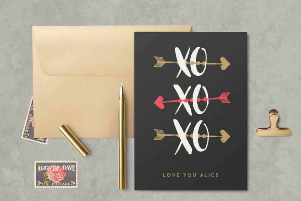 Ways to Express Love: send a personalized card