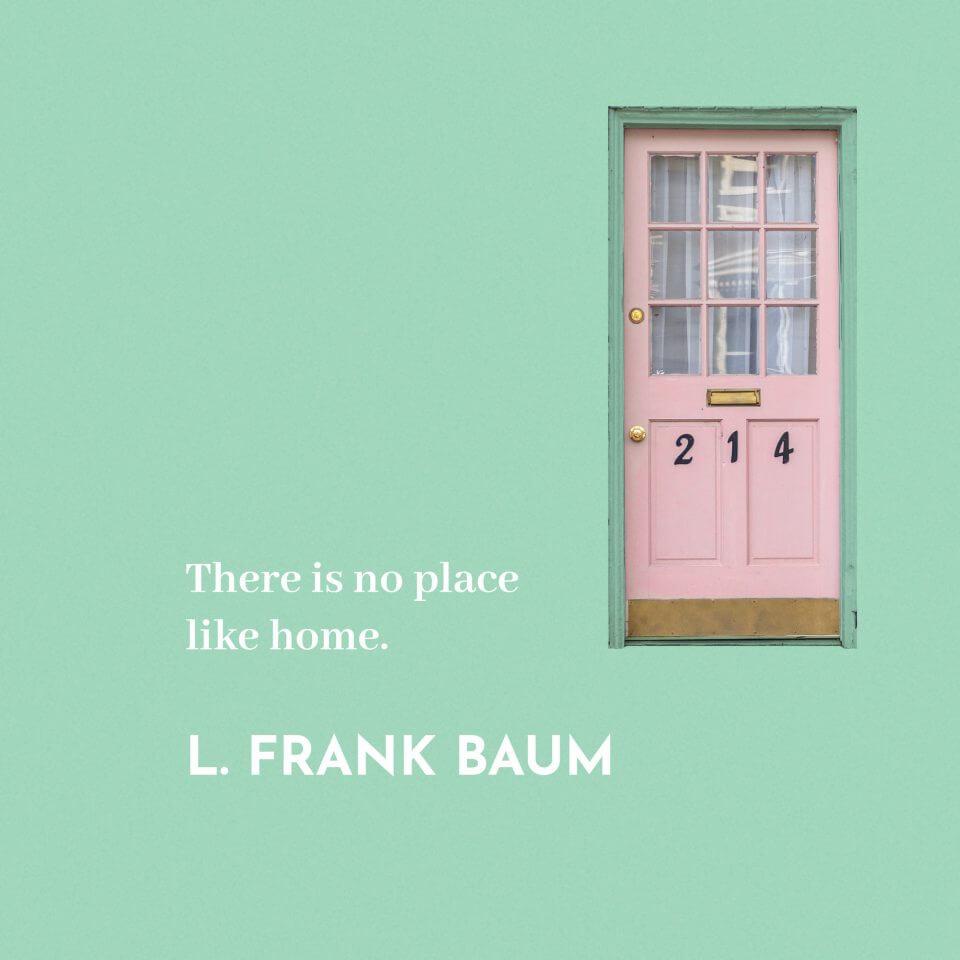 L. Frank Baum quote