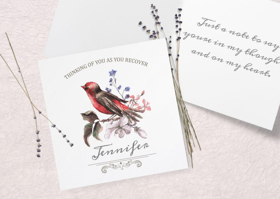 watercolor bird Best Get Well Wishes & Quotes For A Speedy Recovery