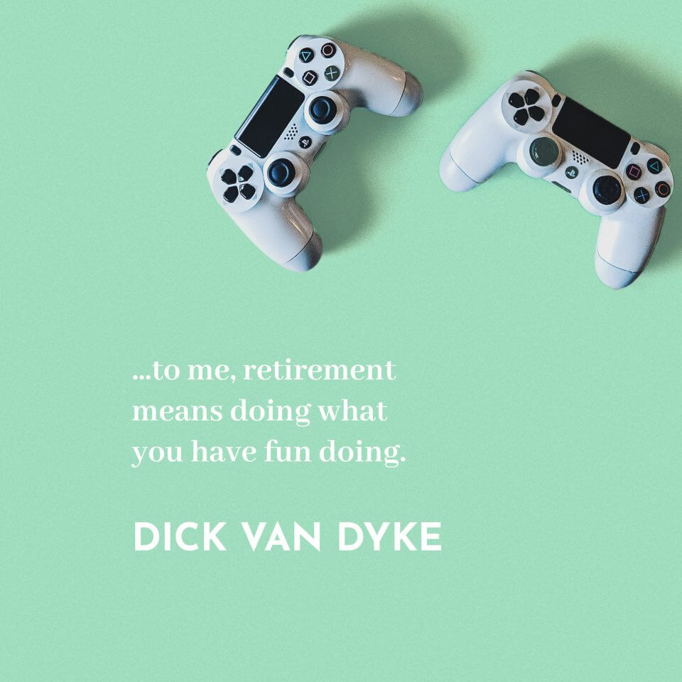 dick van dyke Happy Retirement Wishes messages