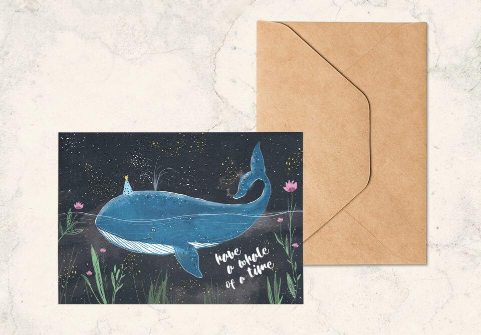 Boy birthday card by designer Snežana Pupović