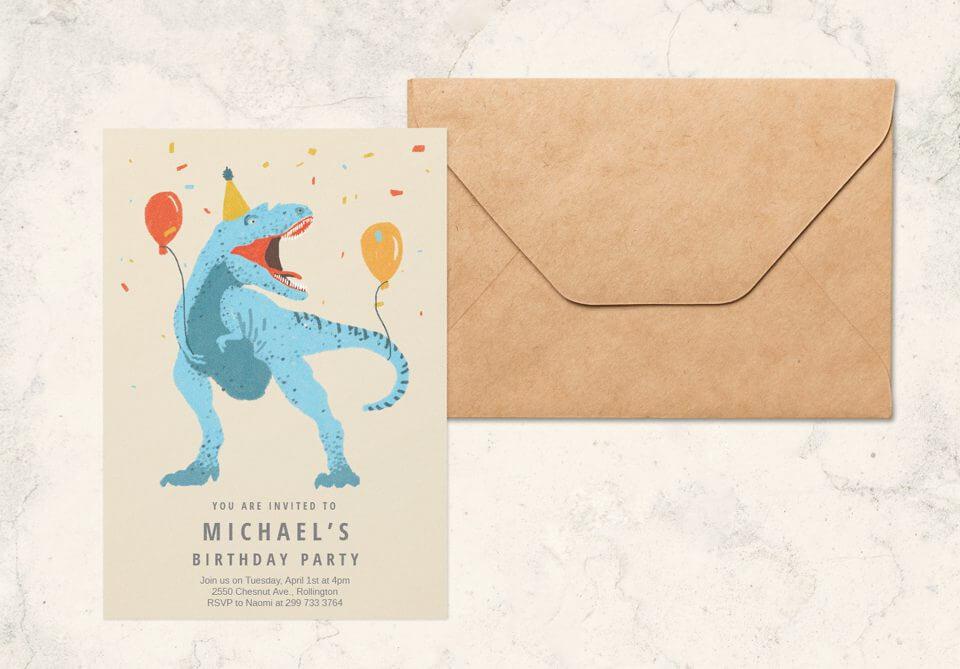 Birthday card by designer Snežana Pupović