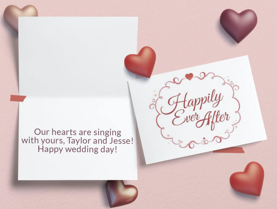 Wedding Wishes Card Messages For The Happy Couple Greetings Island