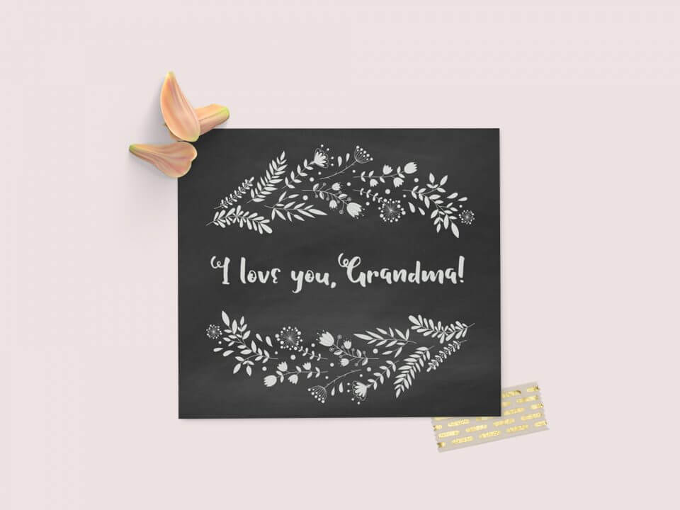 messages and quotes for grandma i love you grandma card