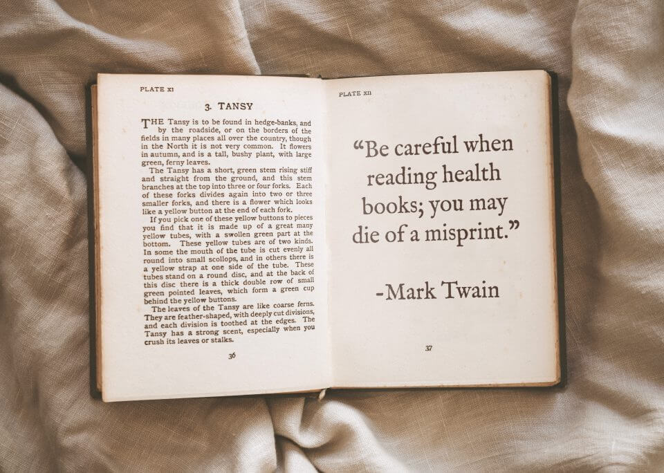 mark twain quote Best Get Well Wishes & Quotes For A Speedy Recovery