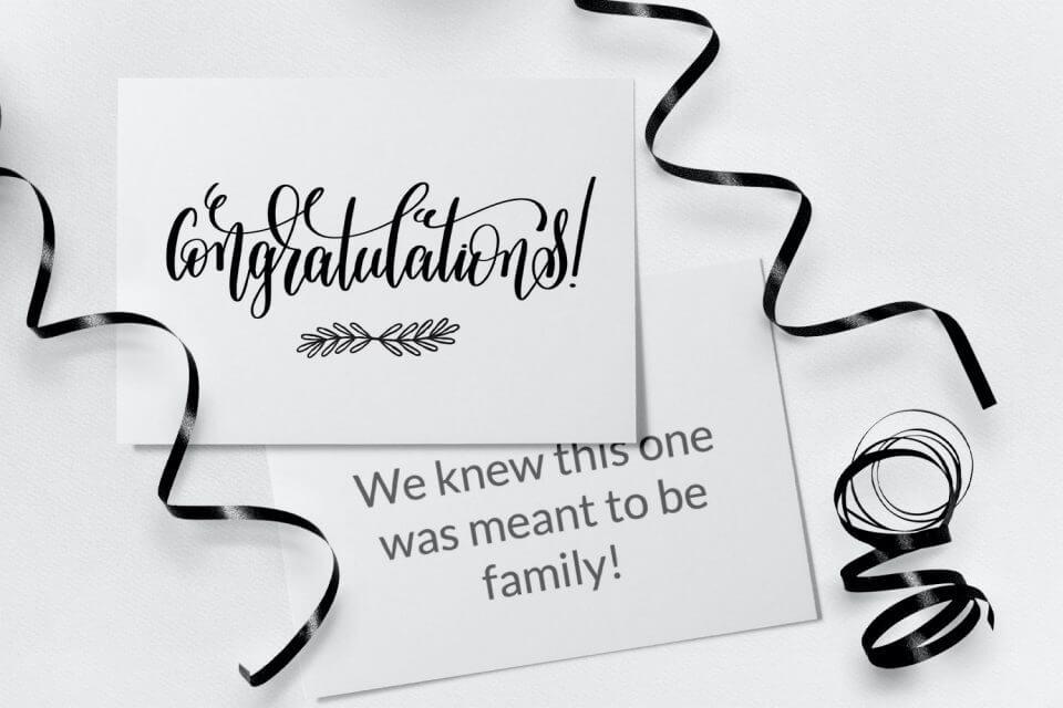 Congratulations - Engagement Congratulations Card