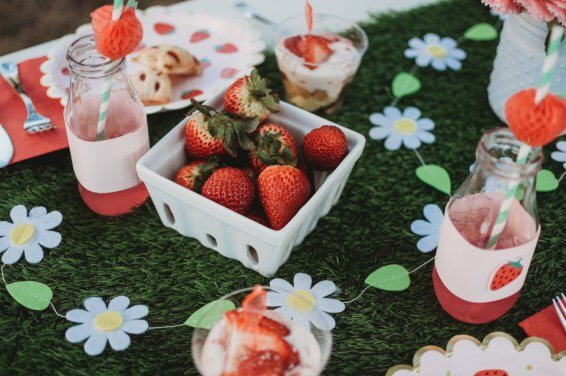 A Berry Sweet National Strawberry Day Party: How to Celebrate the Small Joys With Krissy Bockman