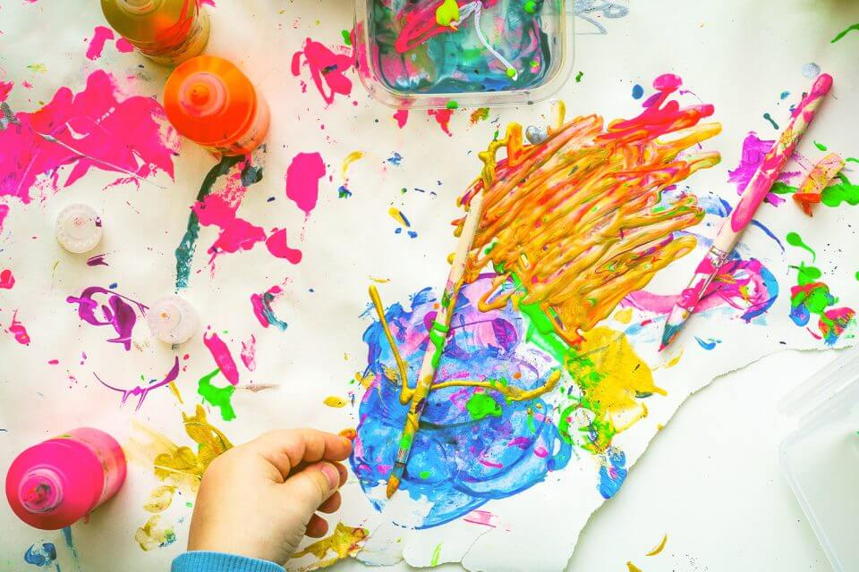 Art back to school party