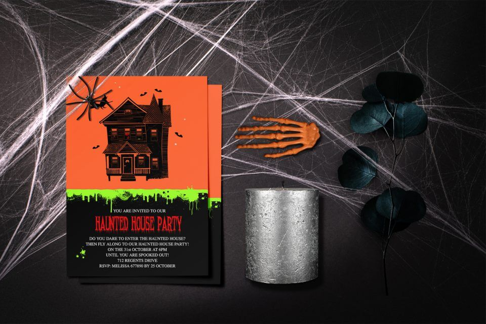13 Thrilling Halloween Party Themes for Kids haunted house party